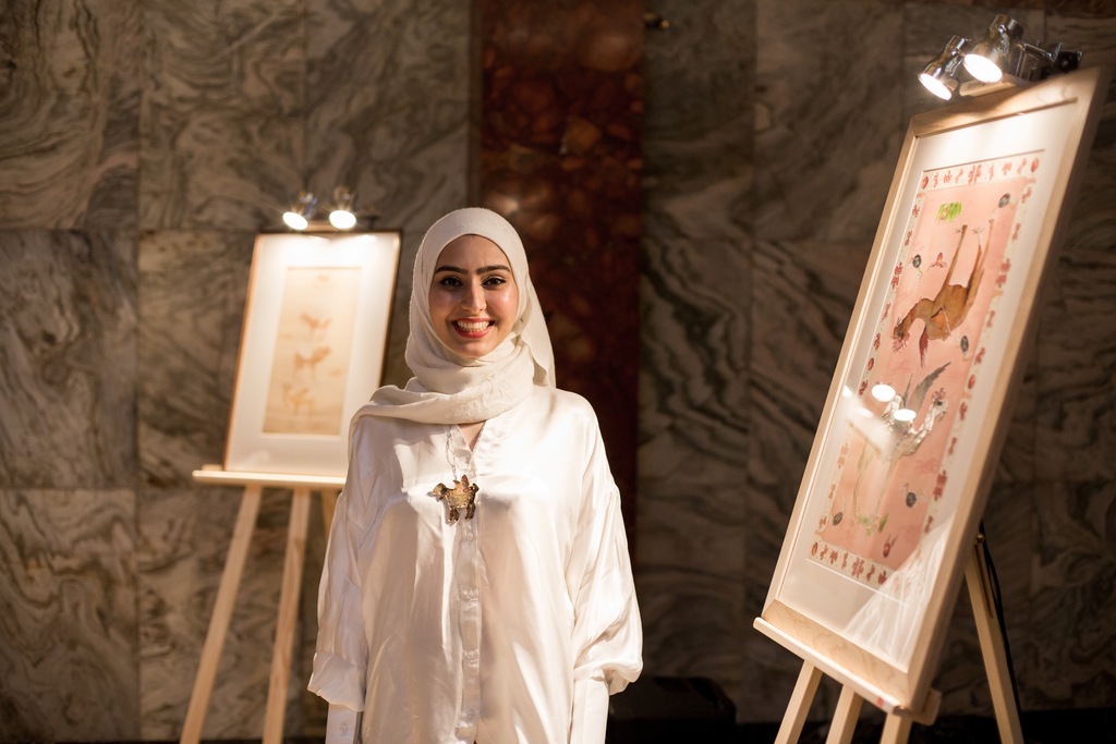 Samar F Zia. Bahishti Cultures, Solo Exhibition at Fitzrovia Chapel