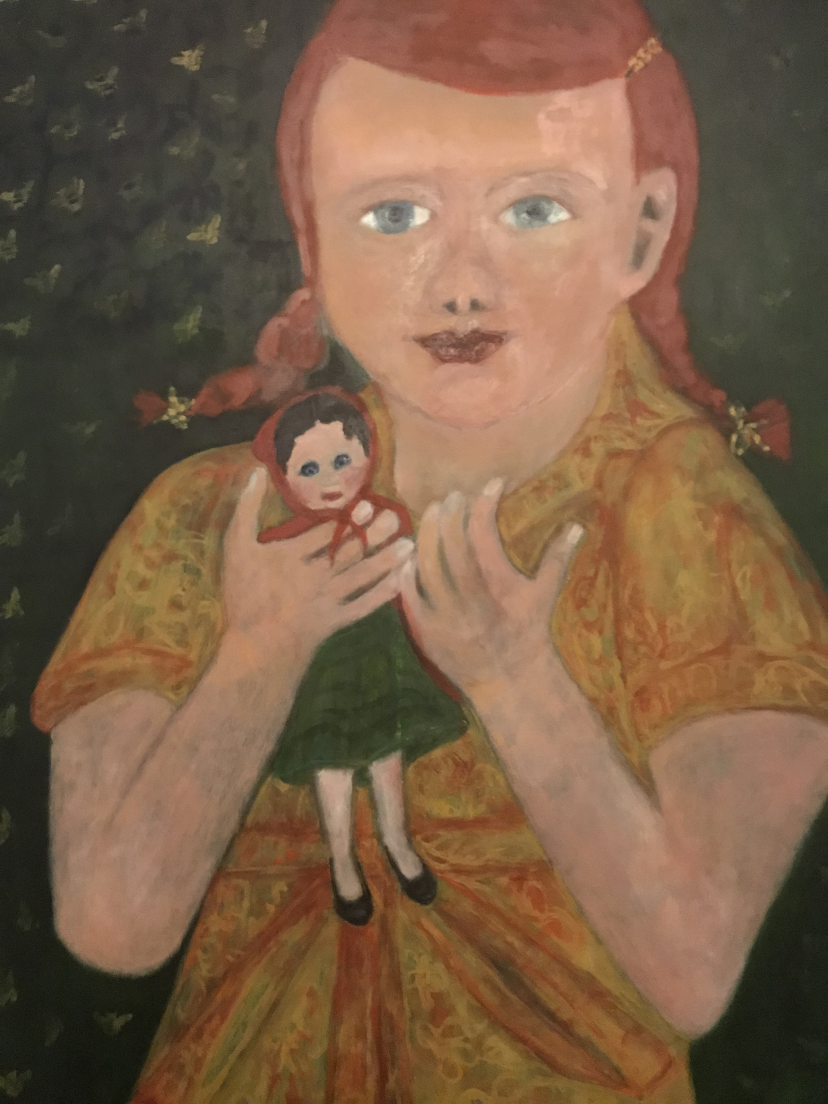 Ginger Pigtails and Doll