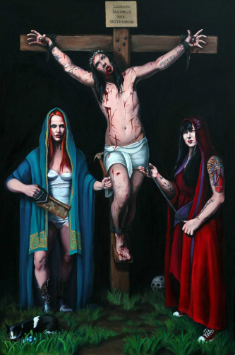 Buy art Backyard Crucifixion